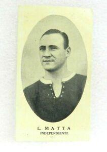 L. MATTA TEAM INDEPENDIENTE 1936 CARD N°50