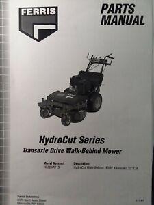 Ferris HydroCut HC32KAV13 Walk Behind Commercial Lawn Mower Parts Manual 2003