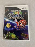 Nintendo Super Mario Galaxy Wii Game  with manual