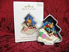 HALLMARK 2012 SERIES ORNAMENT #1~COOKIE CUTTER CHRISTMAS