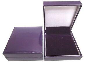 20 x Cadbury Purple Earrings Jewellery Gift Box-Super Quality-Bargain PricePC83E