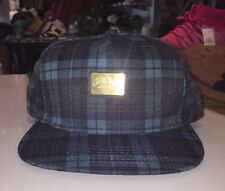 10 Deep Blue Plaid SnapBack!!!!