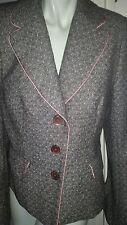 veste T38 Sinéquanone Blouson, veste cuir vintage, manteau, escarpins jupe robe