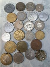 Vintage LOT Miscellaneous Foreign Coins Ships Free And Fast