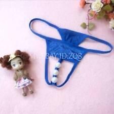 Womens Sexy Thongs G-string T-back Panty Knickers Lingerie Underwear 1814NJ BLUE