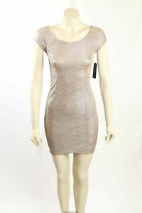 NEW Guess - Size 4- Metallic Gold Party Dress-RRP:$99.00