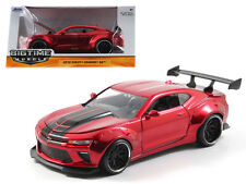 1:24 Jada 2016 Chevrolet Chevy Camaro SS (Red) - Bigtime Muscle Diecast 98136