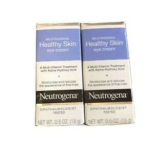 Neutrogena Healthy Skin Eye Cream Multi Vitamin Moisturizer 0.5 Oz 2 Pack