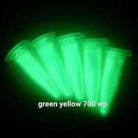 YGW700L 25g GRÜN wasserfest Pigment fluoreszierend Harz Leuchtpigment Farbe