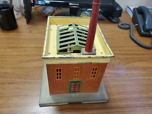 Vintage Lionel 436 Power House Station Smokestack & Chimney   Tuscan & Yellow