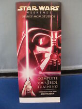 Star Wars Disney Weekends 2005 Construct Your Own Lightsaber RED