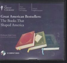 GREAT AMERICAN BESTSELLERS by THE GREAT COURSES ~ UNABRIDGED CD AUDIOBOOK