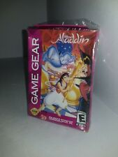 NEW factory sealed Disney's Aladdin game  for Sega Game Gear With a Crushed Box