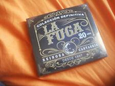 LA FUGA COLECCION DEFINITIVA 20 AÑOS, REINOSA CANTABRIA 2CD NUEVO, PRECINTADO