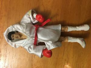 Rocky Balboa III Boxing Action Figure Complete With Robe  Jakks Pacfic