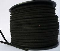 Schmuckband Weiches Wildlederband Lederimitat 3mm flach Wildleder Lederband NEU