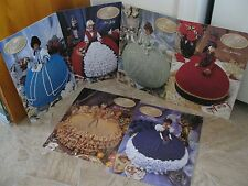 ANNIES' ATTIC ~ crochet patterns for BED DOLL GOWNS 1997 COLLECTION