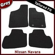 Nissan Navara D22 Crew Cab 1999-2005 Tailored Fitted Carpet Car Floor Mats GREY