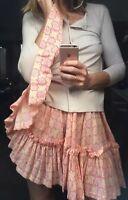 Mela Purdie Bone Jersey Cardigan Blouse Top Brand New Size Xs