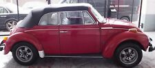 1974 VW Karmann Beetle Convertible 1600 Fuel Injection,original,Barn Find,38k