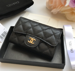 100% Authentic CHANEL CLASSIC FLAP CARD HOLDER 2019