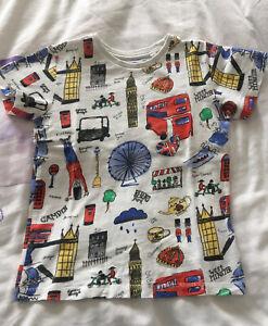 Fab NEXT London T-shirt age 4-5 years
