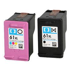 2 Cartouche D'encre Compatible pour HP 61XL L'envie 4500 4502 5530 & Deskjet