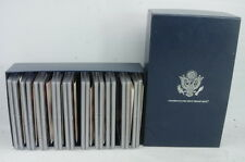 1999 - 2008 US Mint Silver Proof Sets State Quarters Complete With Box