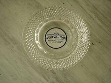 Vintage Brookville Hotel Historical Landmark Glass Advertising Ashtray Excellent