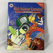 1999 High Interest Learning Inventions Book Jane Pofahl Instructional Grades 4-6