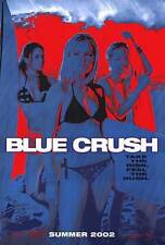 BLUE CRUSH -2002 original 27x40 surf movie poster- KATE BOSWORTH - Blue Advance
