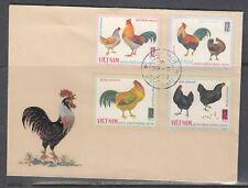 Viet Nam 484-8 FDC - Chickens