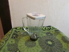 GREAT CONDITION. VINTAGE OSTER BLENDER/MIXER 5 CUP GLASS PITCHER/ JAR. TINTED
