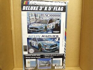 2020 KEVIN HARVICK #4 BUSCH LIGHT 3 X 5 FLAG 2 SIDED BY WINCRAFT.