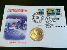USA Commemorative copertura, primo uomo sulla Luna 25th Anniversario