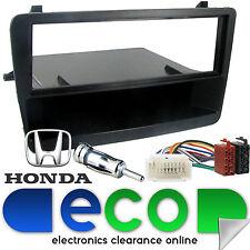 Honda Civic Ep1 Ep2 2000-05 Negro Auto Estéreo Fascia Panel & Kit De Montaje ct24hd01
