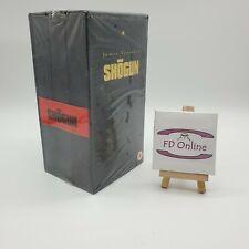 SHOGUN James Clavell's VHS Box Set of 3 Tapes - Rare New & Factory Sealed 1980