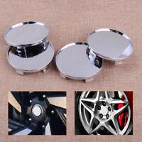4pcs 68mm Cache Moyeu Jante Centre Roue Pas de logo Wheel Center Hub Caps Covers