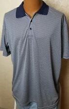 Chereskin Mens Golf Rugby Zebra Striped Shirt Red Black White Size XL