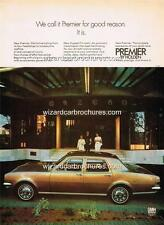 1971 HG HOLDEN PREMIER SEDAN A3 POSTER AD SALES BROCHURE ADVERTISEMENT ADVERT