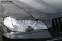 Eyebrows Eyelids fits to BMW X5 E70 headlight Eye brow lid mask lci m x5m