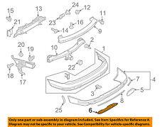 AUDI OEM 10-15 Q7 Rear Bumper-Cover 4L0807819HV7W