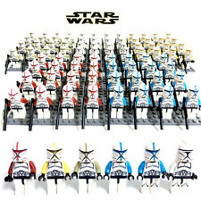 16Pcs Star Wars Clone Trooper  Custom figures Building Toy fit