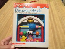 1991 FISHER PRICE DISCOVERY BEADS #1060 NRFP 1st Edition Old Store Stock