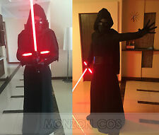 Star Wars 7 VII  The Force Awakens Kylo Ren Cosplay Costume Custom-Made All Size