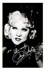 MAE WEST AUTOGRAPHED SIGNED A4 PP POSTER PHOTO