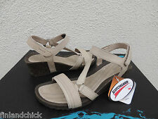 TEVA DUNE CABRILLO CROSSOVER WEDGE LEATHER SANDALS, US 5.5/ EUR 36.5 ~NIB