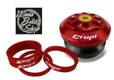 """TANGENT BMX INTEGRATED HEADSET 1/"""" 1//8th RED"""