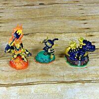 Skylanders Legendary Bash Stealth Elf Ignitor Character Figures Lot 3 Activision