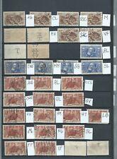 FRANCE - RARE -PERFORÉS - PERFINS - 32  timbres tous différents